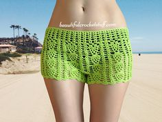 Many of us think that crochet shorts are only for the beach, but why not wear…