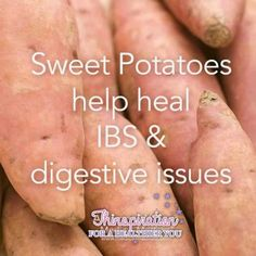 Sweet potatoes help heal IBS and digestive issues Health Facts, Health And Nutrition, Health Tips, Health And Wellness, Health Care, Health Fitness, Gut Health, Holistic Medicine, Natural Medicine