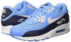 best loved 0ca3c 2a507 Amazon.com   NIKE Mens Air Max 90 Essential Running Shoes  Anthracite White Black 537384-089 Size 8   Running