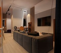 fotos originales salones pequenos televisor ideas