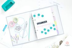 DIY Organizer 2017 do pobrania - planer pdf do druku | Piafka Brain Dump, Bullet Journal, Diy, Organization, Blog, Crafts, Printable, Notes, Getting Organized