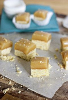 Salted caramel short bread (from Sweet Tooth) + 50 yummy cookie recipes