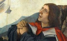 Josse Lieferinxe, Le calvaire, détail (Avinhon, 1493-1505, Musée du Louvre, Paris)