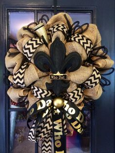 A personal favorite from my Etsy shop https://www.etsy.com/listing/204187220/beautiful-saints-wreath