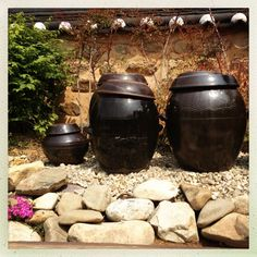 Korean Traditional, Traditional Kitchen, Traditional House, Fermentation Crock, Korean Art, Historical Images, Pretty Photos, Clay Pots, Watercolor