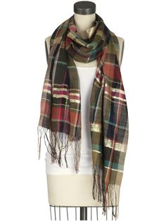 can never have too many scarves. marc jacobs - piperlime.com