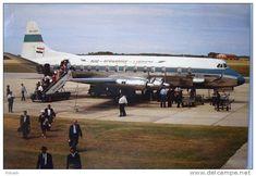 Suid Afrikaanse Lugdiens Vickers Viscount ZS-CDT
