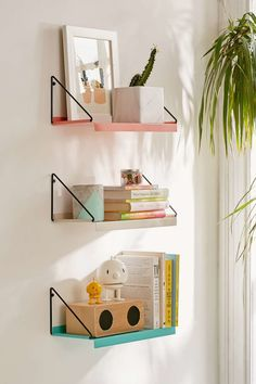 Get these shelves from Urban Outfitters for $29 each.