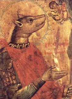 Святой Христофор - святой с собачьей головой / Репортажи / Моя Планета