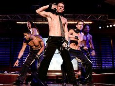 Magic Mike (Channing Tatum) and the Men of Club Xquisite