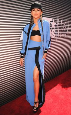 Zendaya looks cute as can be at the BET Awards.