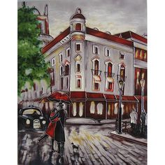 Welcome Embrace Decorative Ceramic Tile By B Heighton