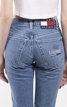 4162d629ee0 Vintage Tommy Hilfiger Denim Pants