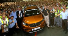 Opel CEO Drives First New Mokka X Off The Line