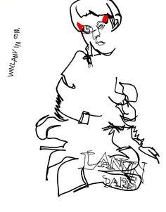 belle BRUT sketchbook: #LanvinParis #fashion #style #illustration #blindcontour © belle BRUT 2014 http://bellebrut.tumblr.com/post/93746618035/belle-brut-sketchbook-lanvin-fashion-style
