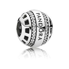 Pandora Charm Logo 791753CZ