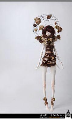 "Fantasy | Whimsical | Strange | Mythical | Creative | Creatures | Dolls | Sculptures | ☥ | Doll Chateau ""Jupiter"""