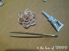 4 the love of wood: YOUR VERY OWN CHARM - beach shell charm tutorial