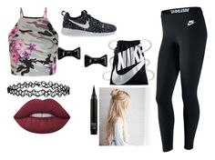 """""""Nike"""" by titi-reina on Polyvore featuring moda, New Look, NIKE, Marc by Marc Jacobs, Accessorize y Lime Crime"""
