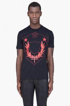 Givenchy Black Cuban T-Shirt