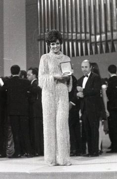 Salomé - Spain, one of the four winners of the Eurovision Song Contest 1969 in Madrid