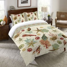 Beyond the Surf Duvet Cover and Shams – Laural Home