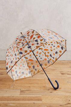 Terrazzo Print Bubble Umbrella - anthropologie.com