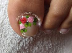 Nail Art Designs Videos, Nail Designs, Purple And Pink Nails, Toe Nails, Pedicure, Hair Beauty, Pretty, Toe Nail Art, Nail Arts