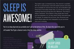 Why Sleep Matters     Sleep matters. Get to bed on time to improve your health. Sleep too little and you're in trouble. This infographic details the downside of sleeping too little.
