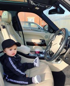Its an awesome driver 😍 Cute Kids, Cute Babies, Baby Photos, Jordans, Photo And Video, Children, Qoutes, Instagram, Awesome