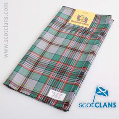 Craig Ancient Tartan Headsquare. Free worldwide shipping available