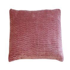 11 coloris disponibles - En-fil-dindienne - Taie oreiller en velours Vague - 60x60 cm - Home Beddings and Curtains