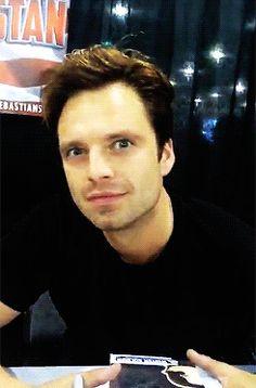 Big eyes :3  #SebGIF #SebastianStan