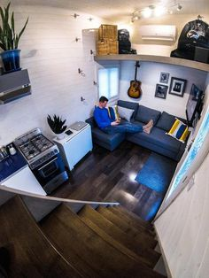 "Wes Sekeres enjoys small spaces but found it challenging to design a Tiny House RV for his tall frame –  6'4."" He, like many others, was initially worried …"