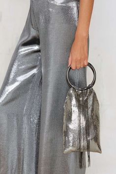 Whiting & Davis Jagger Metal Mesh Bag - Accessories Bags + Backpacks That Flow Moves Like Jagger, Vintage Branding, Metal Mesh, Nasty Gal, Fashion Accessories, Accessories Shop, Womens Fashion, Fashion Trends, My Style