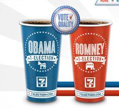 Vasos de café de 7-Eleven predicen ganador presidencial en Estados Unidos