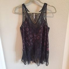 Free People Tank Romantic top from Free People. In good condition! Free People Tops Tank Tops