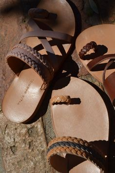 Grecian sandals by Valia Gabriel