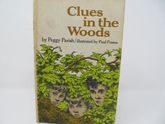 Clues In The Woods by Peggy Parish - 1968 by CellarDeals on Etsy