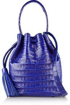 Nancy Gonzalez Crocodile bucket bag | NET-A-PORTER