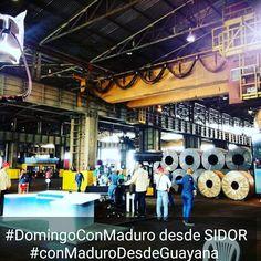 """@HogarDeLaPatria : #ConMaduroDesdeGuayana """"la mujer venezolana sigue dando muestra de compromiso""""  @NicolasMaduro"""