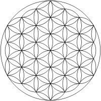 La Flor de la Vida, la matriz geométrica de donde se genera la creación del Universo  La Flor de la Vida, consiste en un mandala de 19 círculos perfectos y entrelazados en forma de pétalos o para ser más específicos de la figura sagrada Vesica Piscis. Es la síntesis de la Geometría Sagrada y de allí parten todos los patrones que la naturaleza utiliza para crear todo lo que existe. E…