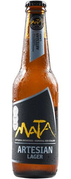 MATA Artesian: Unique Lager Beer from New Zealand…