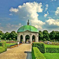 Hofgarten in München, Bayern- Garden