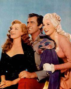"Stewart Granger, Janet Leigh & Eleanor Parker - ""Scaramouche"" (1952)"