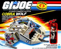 G.I.Joe Cobra Wolf (1987) - I really wanted this toy as a kid