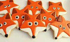 Fox star biscuits  #food #art #fox