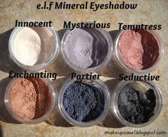 Makeup Case: e.l.f Mineral Eyeshadow
