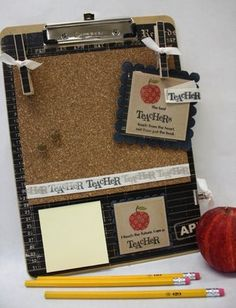 Love thecraftingchicks.com!  They have great teacher gift ideas!!!