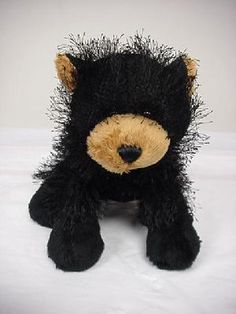 WEBKINZ BLACK BEAR ~ PLUSH ONLY ~ NO CODE ~ FREE SHIPPING  $7.00